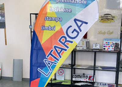Bandiere Pubblicitarie 5 | La Targa Cuneo | Targhe E Timbri Cuneo (Cn)