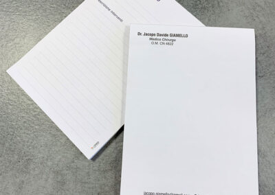 Bloc Notes 7 | La Targa Cuneo | Targhe E Timbri Cuneo (Cn)