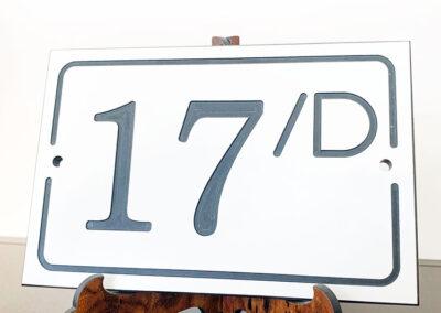 Numerazione Civica Incisa | La Targa Cuneo | Targhe E Timbri Cuneo (Cn)