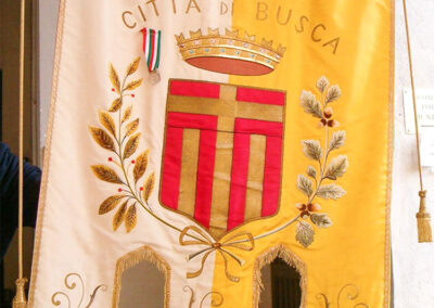 Gonfalone 1   La Targa Cuneo   Targhe E Timbri Cuneo (Cn)
