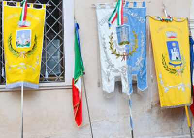 Gonfalone 3   La Targa Cuneo   Targhe E Timbri Cuneo (Cn)