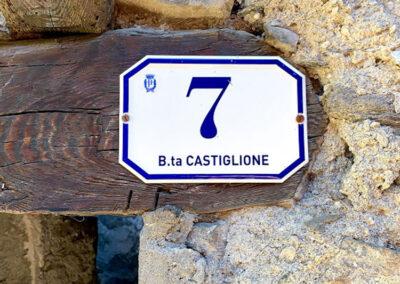 Numerazione Civica Effetto Ceramicato 4 | La Targa Cuneo | Targhe E Timbri Cuneo (Cn)