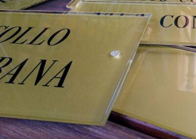 Plexiglass 4 | La Targa Cuneo | Targhe E Timbri Cuneo (Cn)