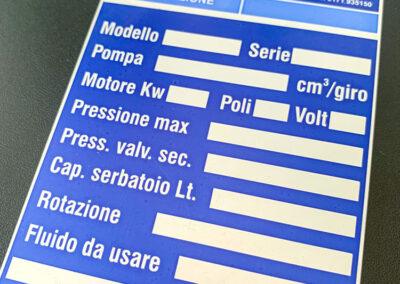 Serigrafia 5 | La Targa Cuneo | Targhe E Timbri Cuneo (Cn)
