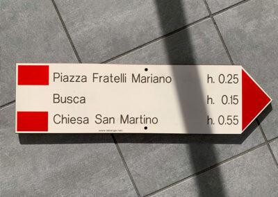 Targhe Per Segnaletica 2 | La Targa Cuneo | Targhe E Timbri Cuneo (Cn)