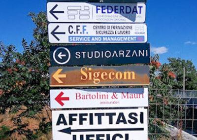 Targhe Per Segnaletica 4 | La Targa Cuneo | Targhe E Timbri Cuneo (Cn)