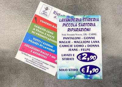 Volantini 6 | La Targa Cuneo | Targhe E Timbri Cuneo (Cn)